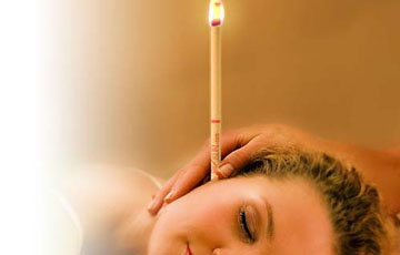 Ear Candling that is provided here at @HobokenWellnessSpa | Call @ (201) 683-8989